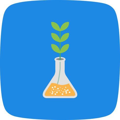 Experiment Wachstum Vektor Icon