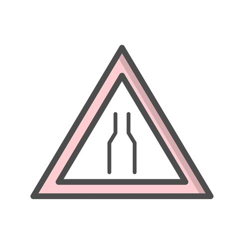 Vector Carriageway narrow Icon