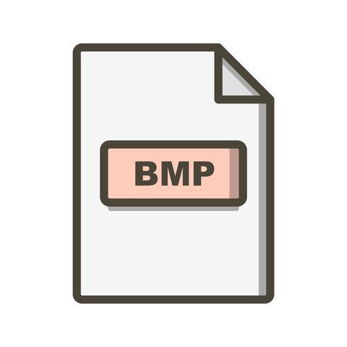 BMP Vector Icon