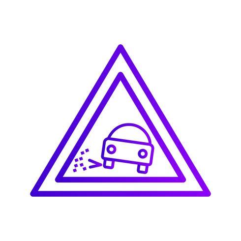 Vector Perder ícone de cascalho