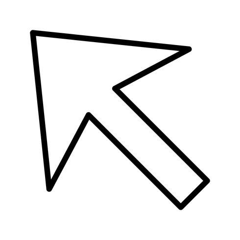 Icona di vettore del cursore