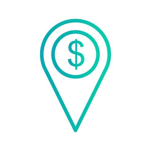 Business Location Vector Icon