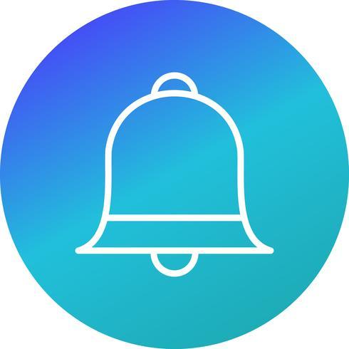 icône de vecteur de notification