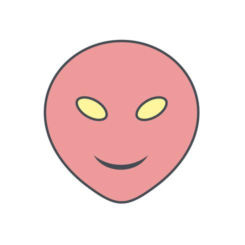 Alien Emoji Vector Icon - Download Free Vector Art, Stock