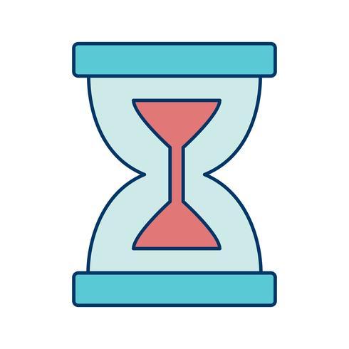 Icono de Vector de reloj de arena