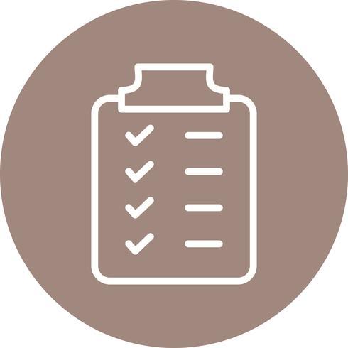 Planning Vector Icon