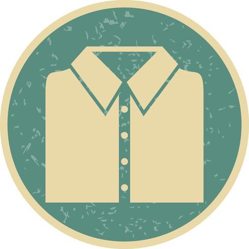 Ícone de vetor de camisa de escola
