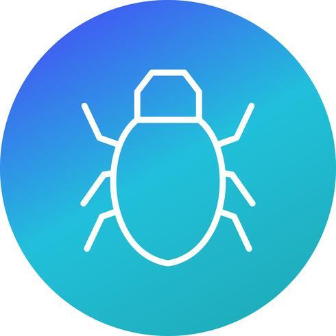 Ícone de vetor de bug