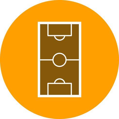 Icono de Vector de campo de fútbol