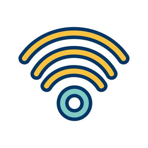 Wifi-Vektor-Symbol