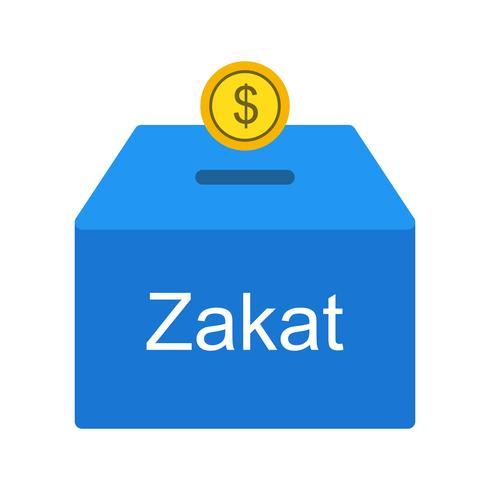 Icona di vettore di Zakat