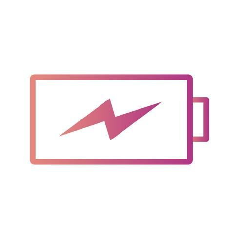 Charging Battery Vector Icon