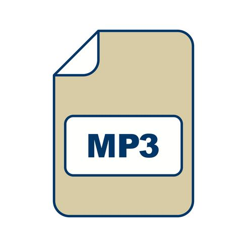 mp3 vector pictogram
