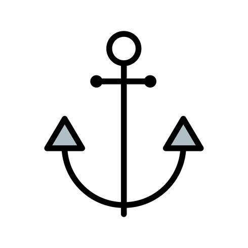 Anchor Vector Icon