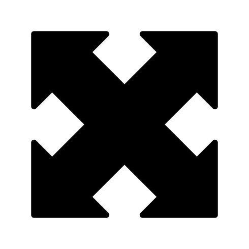 Expanda o ícone do vetor