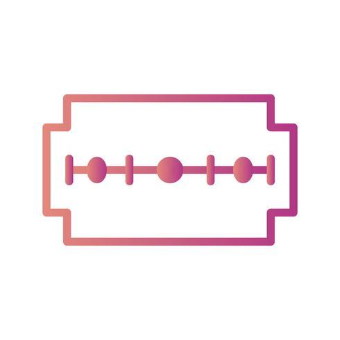 scheermes vector pictogram