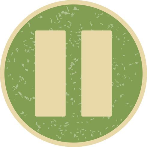 Paus vektor ikon