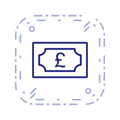 Pound Vector Icon