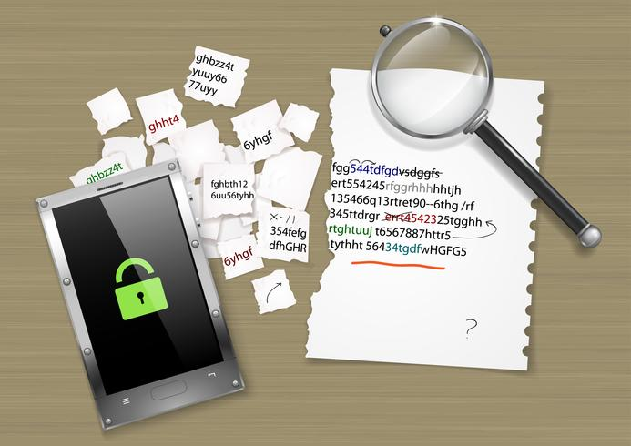 Decryption of the hacker code - Download Free Vector Art, Stock