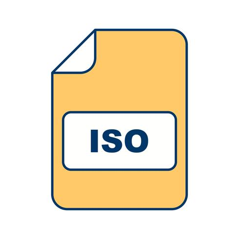 ISO Vector Icon
