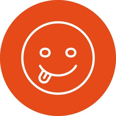 Tongue Emoji Vector Icon