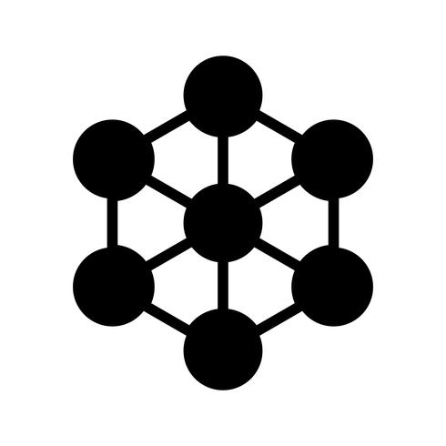 Molekül-Vektor-Symbol