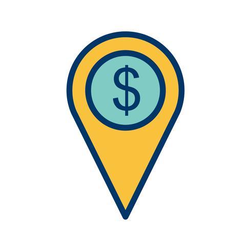Zakelijke locatie Vector Icon