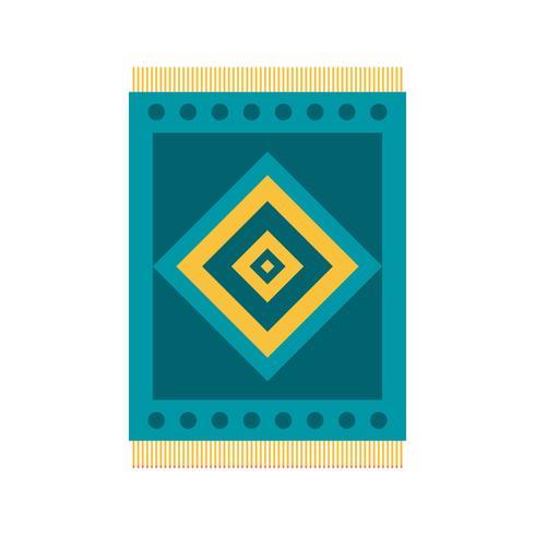 Icona di vettore di tappeto