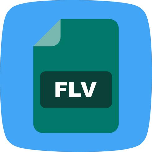 FLV Vector Icon