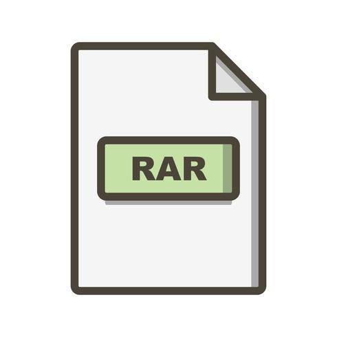 RAR Vector Icon