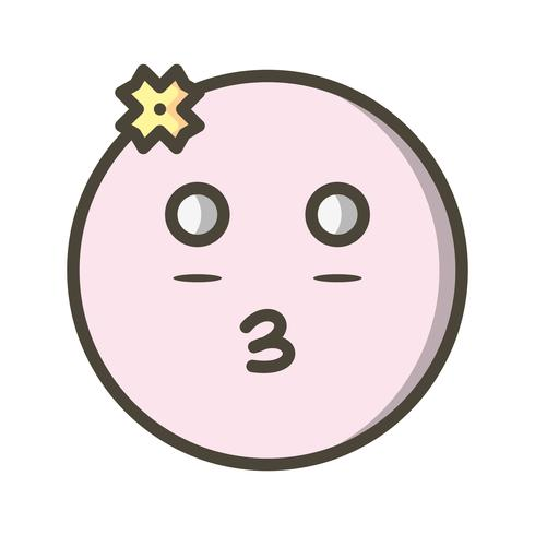 Girl Emoji Vector Icon