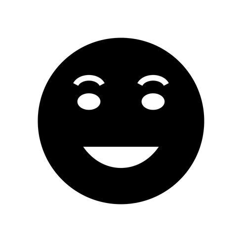 lol emoji vector icon