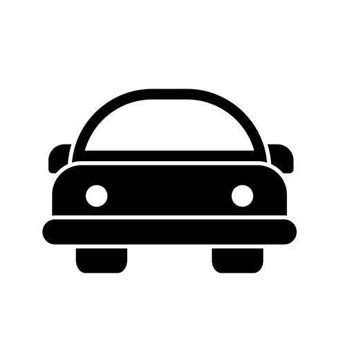Caricatura, car, vetorial, ícone