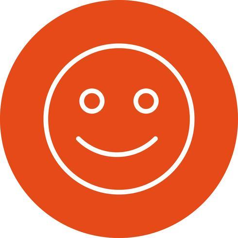 Ícone de vetor de Emoticon feliz