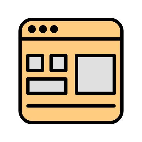 Template Vector Icon
