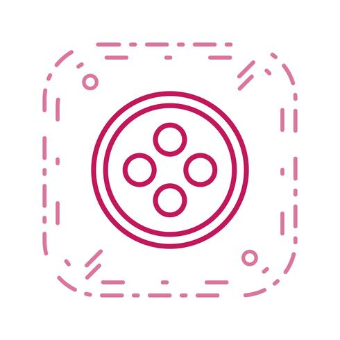 Button Vector Icon