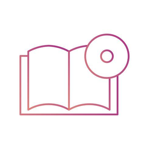 Book DVD Vector Icon