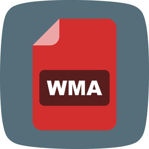 Ícone de vetor de WMA