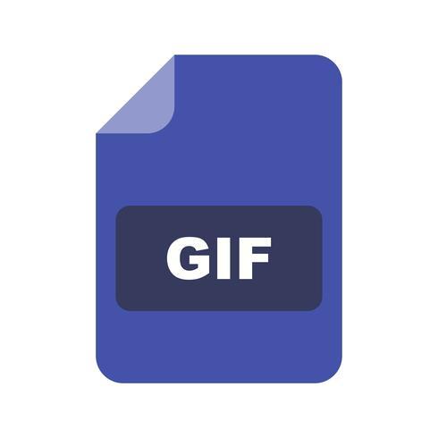 gif vector pictogram