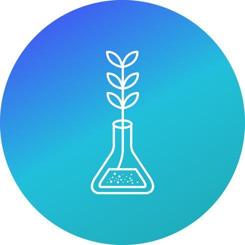 Experimento Crecimiento Vector Icon