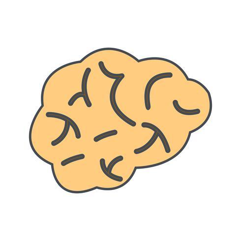 Ícone de vetor de cérebro