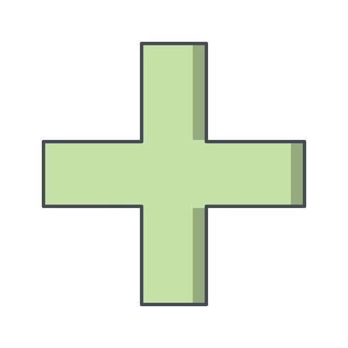 plus vector pictogram