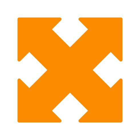 Expand Vector Icon