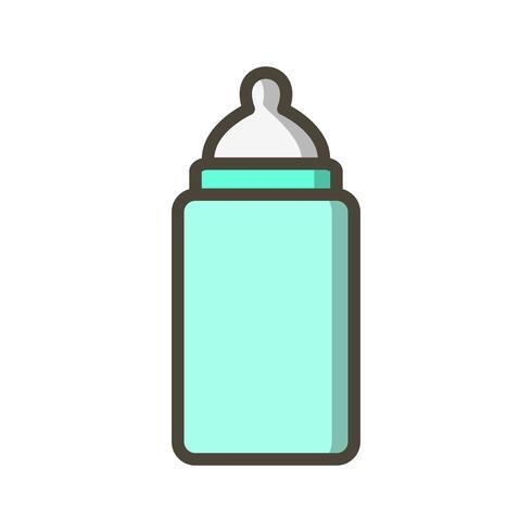 Baby Bottle Vector Icon