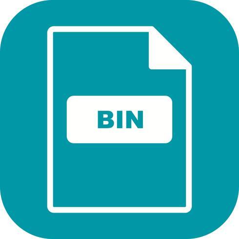 Icona di vettore di BIN
