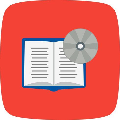 Libro DVD Vector Icon