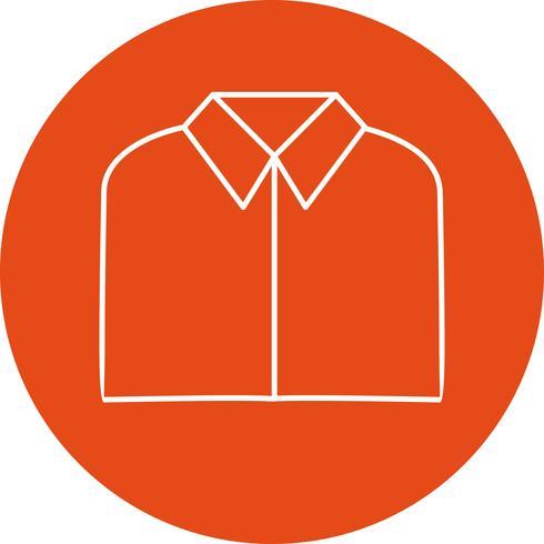 school shirt vector pictogram