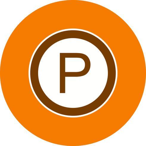 Vector Parking Icon