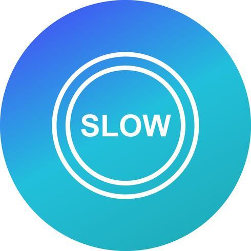 Vector Slow-pictogram