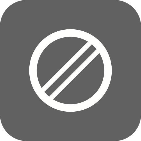 Vector Nationale snelheidslimiet is van toepassing Pictogram